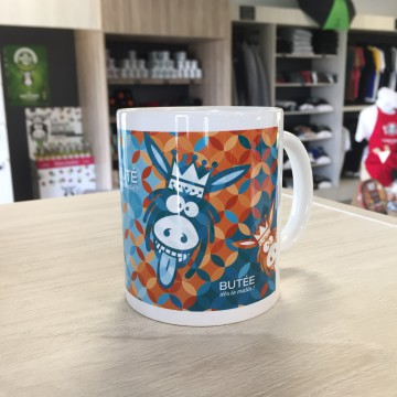 Mug dd bleu,orange 1