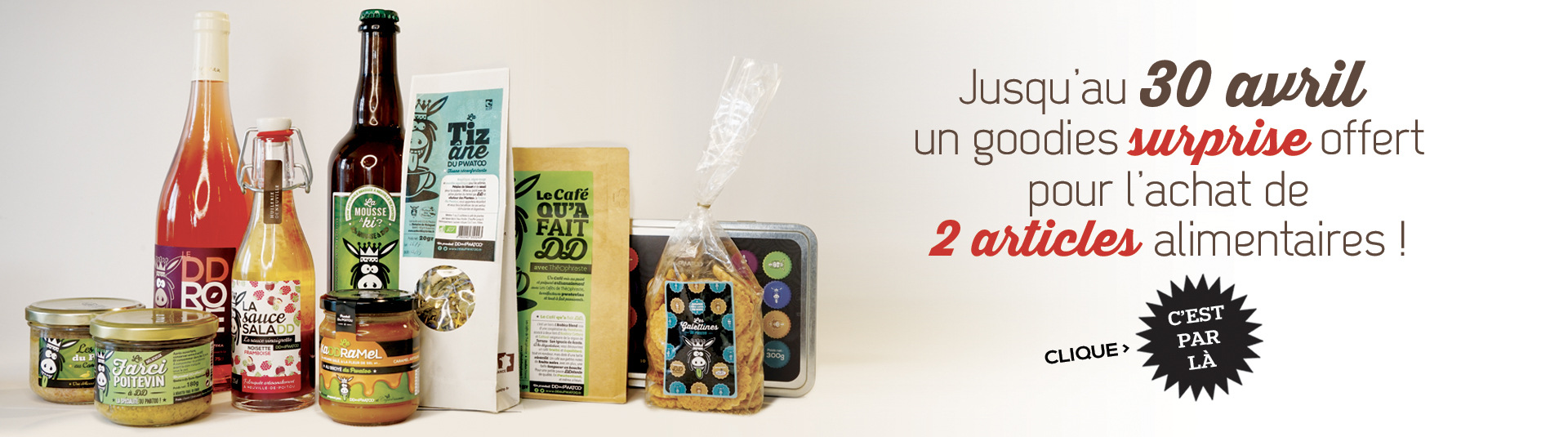 Slyder promo alimentaire