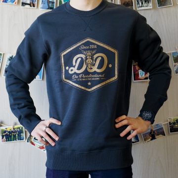 Sweat col rond navy(2)