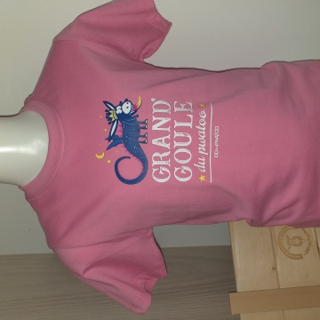 T-shirt Goule rose